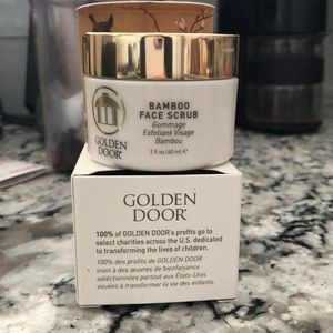 Golden Door Exfoliant Bamboo Face Scrub